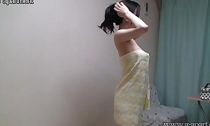 Shower time be useful to japanese breasty teen