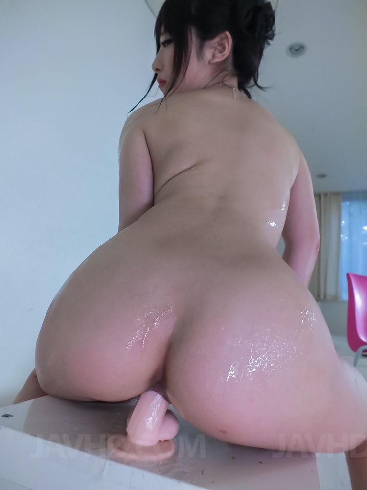 Big Titted Asian Riding Dildo